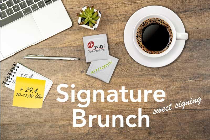 Einladung zum Signature Brunch